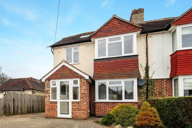 Thumbnail Semi-detached house to rent in Church Road, Biggin Hill, Westerham
