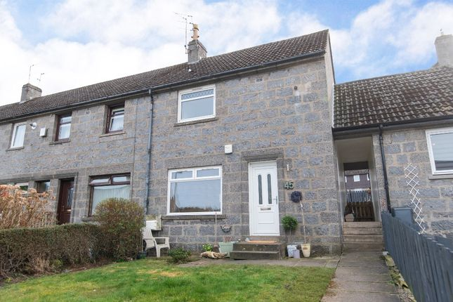 Thumbnail Terraced house for sale in Tollohill Place, Kincorth, Aberdeen