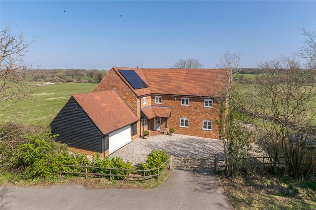 Thumbnail Detached house for sale in Reading Road, Mattingley, Hampshire