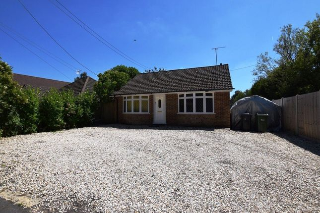 Thumbnail Detached bungalow for sale in Station Road East, Ash Vale