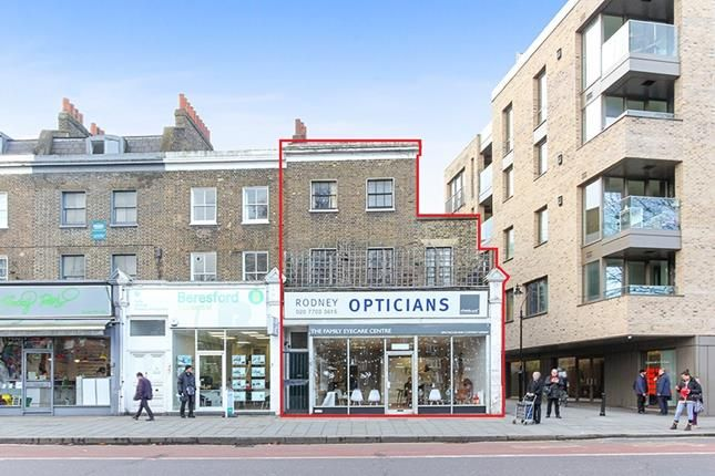 Thumbnail Commercial property for sale in Retail Unit With Residential Uppers, 7 Camberwell Green, London