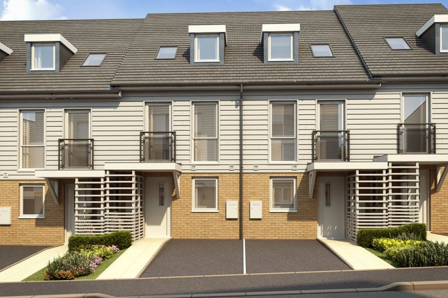 """Thumbnail Terraced house for sale in """"Helmsley"""" at Temple Hill, Dartford"""
