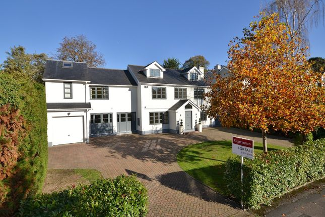 Thumbnail Detached house for sale in Hunting Close, Esher