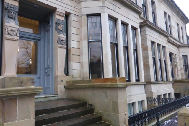 Thumbnail Flat to rent in Lancaster Terrace, West End