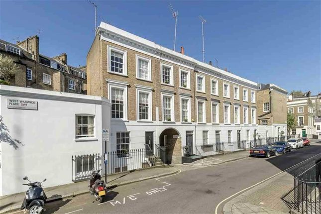 Thumbnail Flat to rent in West Warwick Place, London