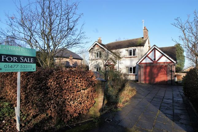 Thumbnail Property for sale in New Platt Lane, Goostrey, Crewe