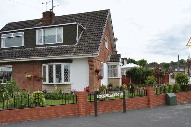 Thumbnail Semi-detached house to rent in Horbury Close, Scunthorpe