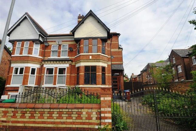 Thumbnail Semi-detached house to rent in Manley Road, Whalley Range, Manchester