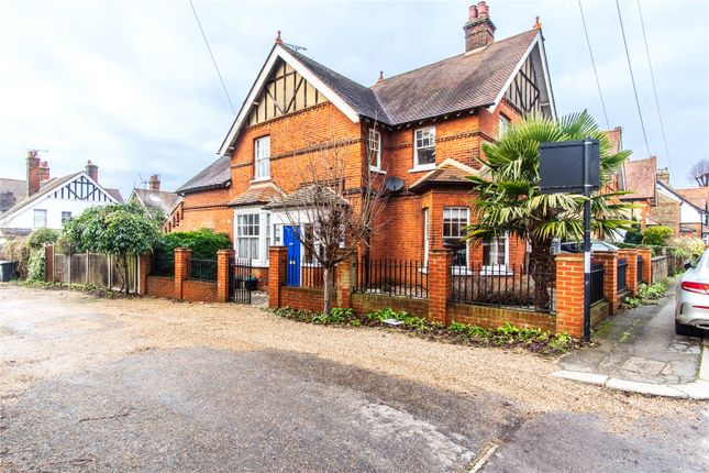 Thumbnail Semi-detached house for sale in Manor Road, Bishop's Stortford