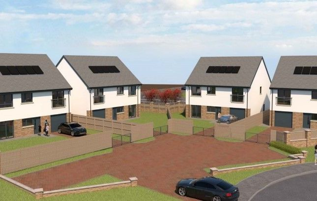 Thumbnail Detached house for sale in The Courtyard, Millcraigs Drive, Winchburgh