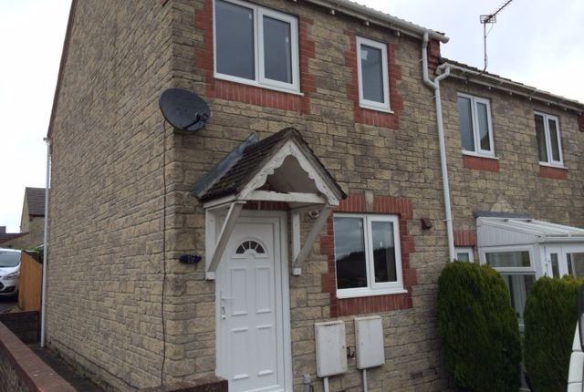 Thumbnail Terraced house to rent in Clover Close, Milkwall
