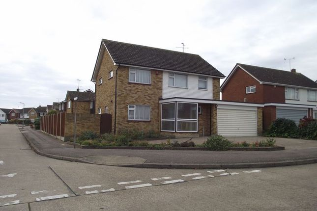 Thumbnail Detached house to rent in Fortescue Chase, Southend-On-Sea