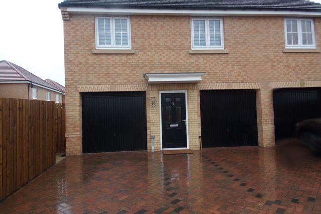 Thumbnail Flat for sale in Red House Gardens, Netherton Lane, Bedlington