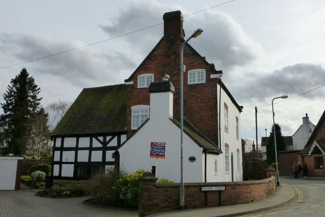 Thumbnail Detached house for sale in Main Farmhouse Long Street, Wheaton Aston, Stafford