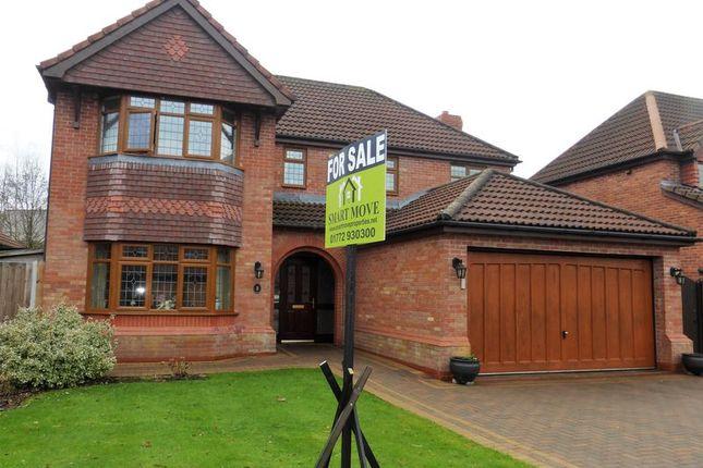 Thumbnail Detached house for sale in Jubilee Road, Walmer Bridge, Preston