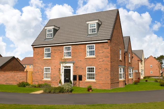 "Thumbnail Detached house for sale in ""Maddoc"" at Lightfoot Lane, Fulwood, Preston"