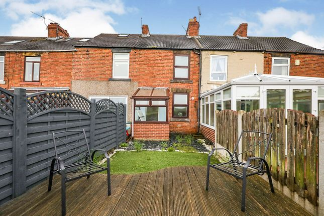 2 bed terraced house for sale in The Square, Harley, Rotherham, South Yorkshire S62