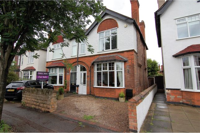 Thumbnail Semi-detached house for sale in Edward Road, West Bridgford