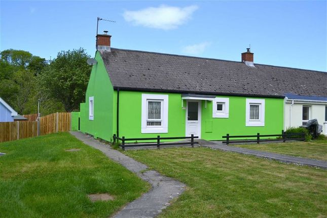 Thumbnail Semi-detached bungalow for sale in Heol Y Bont, Llanarth, Ceredigion