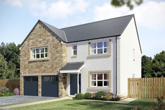 "Thumbnail Detached house for sale in ""The St Andrews"" at East Calder, Livingston"