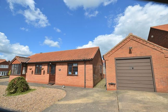 Thumbnail Detached bungalow for sale in Greengarth, Bottesford, Scunthorpe