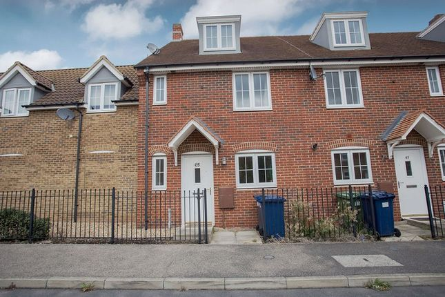 Thumbnail 4 bed town house for sale in Violet Way, Yaxley, Peterborough, Cambridgeshire.