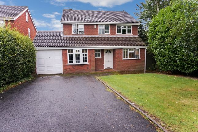 Thumbnail Detached house for sale in Fox Hollies Road, Walmley, Sutton Coldfield