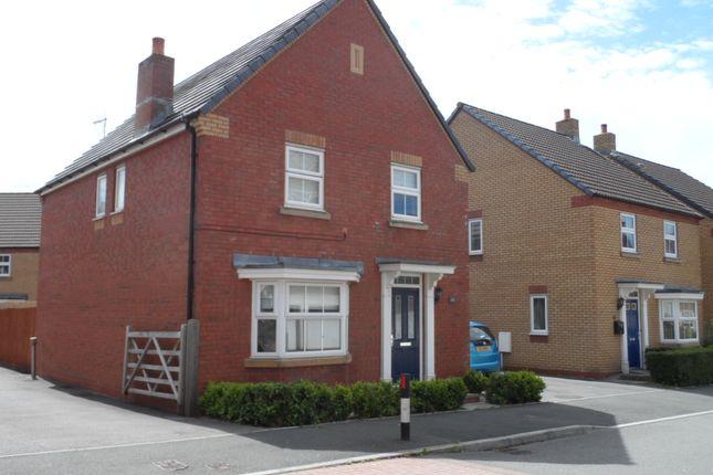 Thumbnail Detached house to rent in Longacre, Bridgend