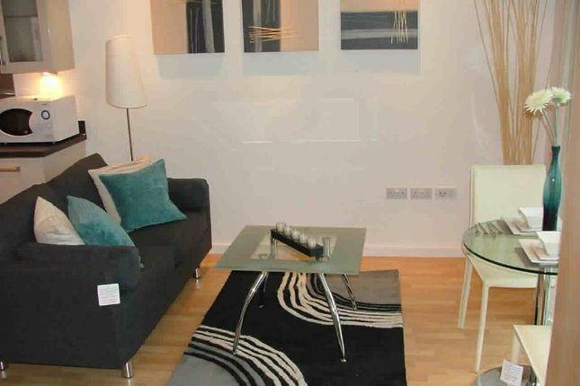 Studio to rent in Masshouse Plaza, Birmingham