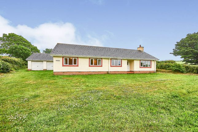 Thumbnail Bungalow for sale in Pelutho, Silloth, Wigton, Cumbria