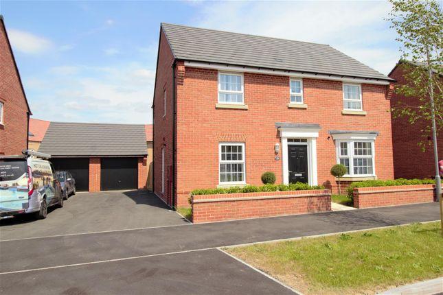 4 bed detached house for sale in Fitz Hugh Crescent, Eagle Farm South, Milton Keynes MK17