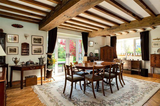 Dining Room of Ridley Hill Farm, Ridley, Tarporley, Cheshire CW6