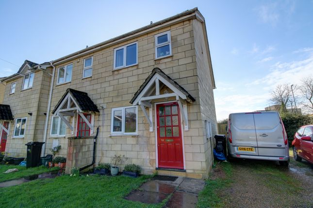 Thumbnail End terrace house for sale in Canons Close, Bath