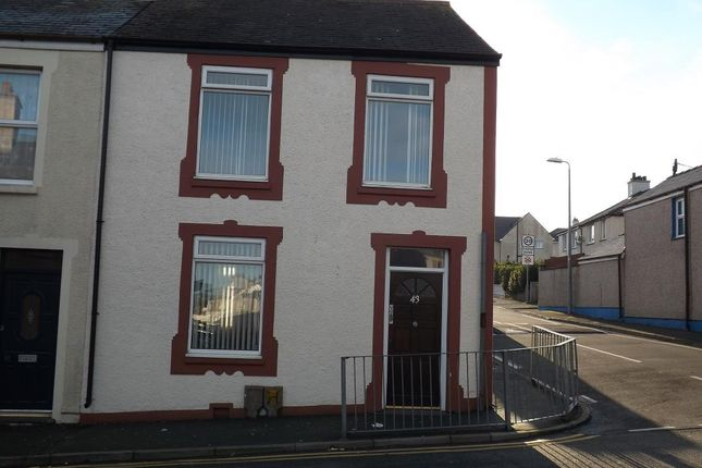 Thumbnail End terrace house to rent in Newry Street, Holyhead