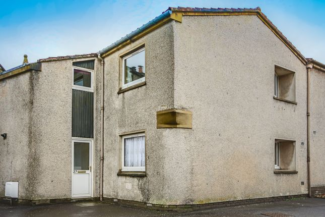 Thumbnail End terrace house to rent in Main Street, Kirknewton