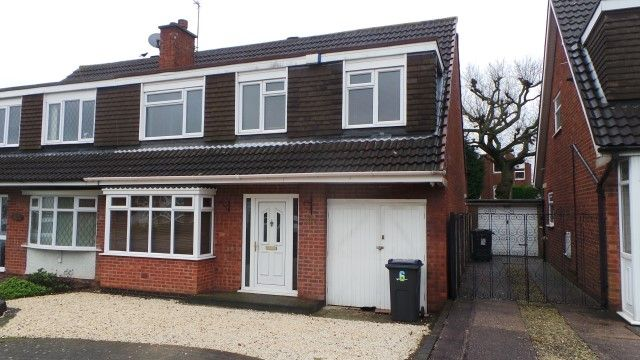 Thumbnail Semi-detached house for sale in Brailes Drive, Sutton Coldfield, West Midlands
