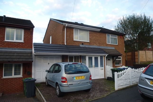 Thumbnail Semi-detached house for sale in Nelson Street, West Bromwich