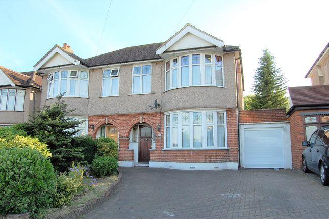 Thumbnail Semi-detached house for sale in Gubbins Lane, Harold Wood