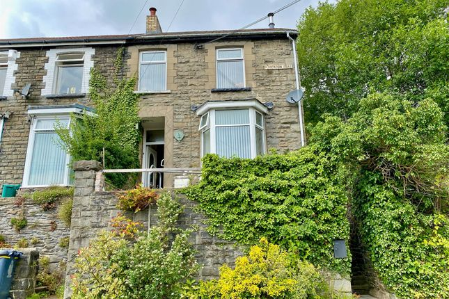 Thumbnail End terrace house for sale in Plantation Road, Abercynon, Mountain Ash