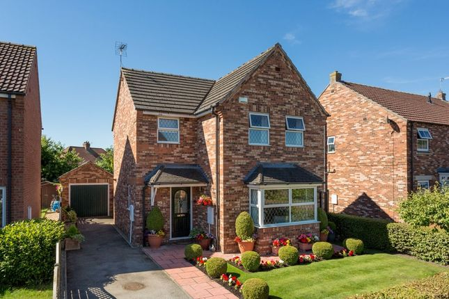 Thumbnail Detached house for sale in Chatsworth Avenue, Strensall, York