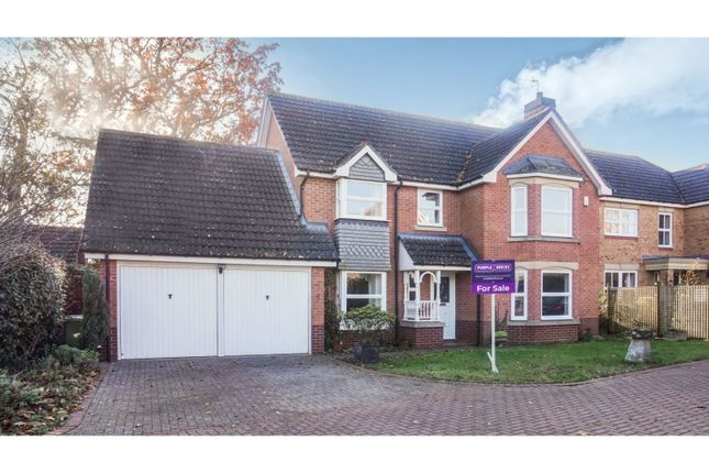 Thumbnail Detached house for sale in Prince Edwards Close, Evesham