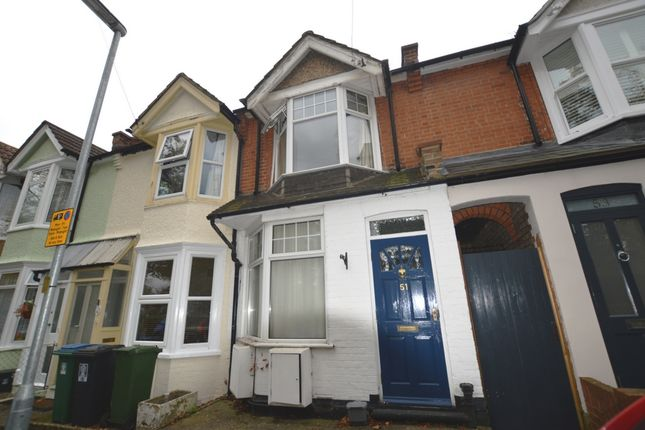 Thumbnail Terraced house to rent in Ashby Road, North Watford