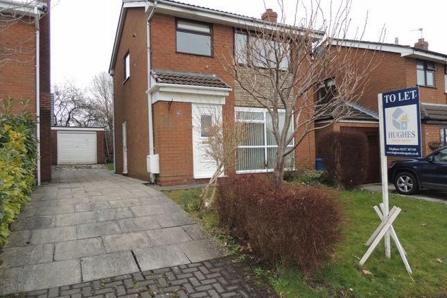 Thumbnail Detached house to rent in Whitehall Avenue, Appley Bridge, Wigan