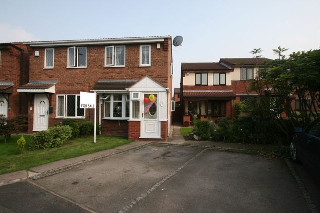 Thumbnail Semi-detached house for sale in Crown Court, Victoria Mews, Wednesbury