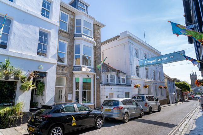 Thumbnail Town house for sale in Chapel Street, Penzance
