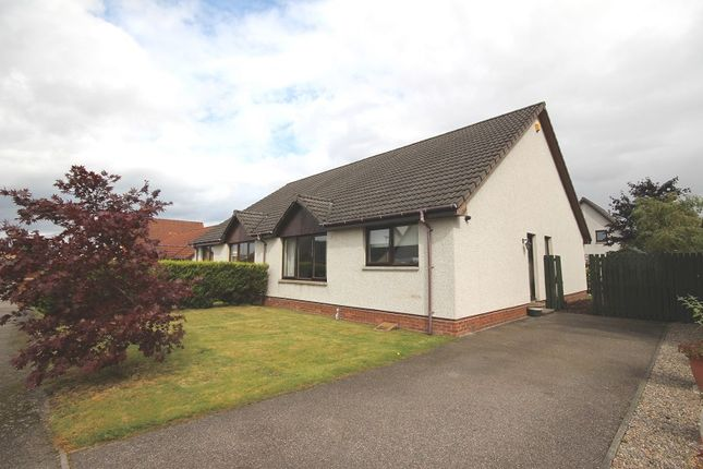 Thumbnail Semi-detached bungalow for sale in 17 Castle Heather Crescent, Inverness