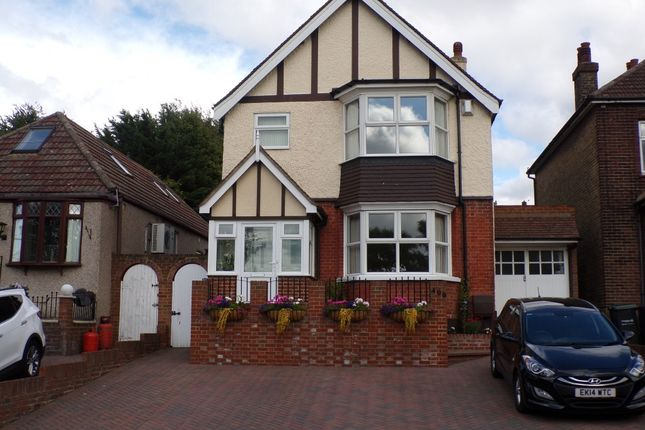 Thumbnail Detached house for sale in Wrotham Road, Gravesend