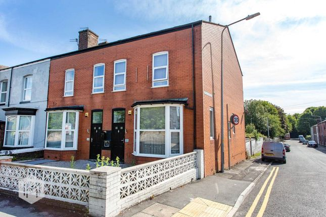 Thumbnail End terrace house for sale in Bolton Road, Farnworth, Bolton, Lancashire