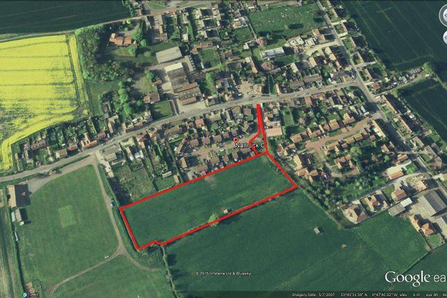 Thumbnail Land for sale in Nanrock Close, Eastrington, Goole