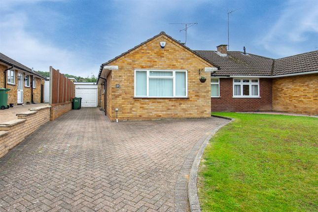 Thumbnail Semi-detached bungalow for sale in Lowther Road, Dunstable, Bedfordshire